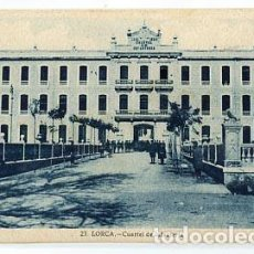 Postales: MURCIA LORCA CUARTEL DE INFANTERIA. ED. JUAN MARTINEZ. CABANELL. SIN CIRCULAR. Lote 78679309