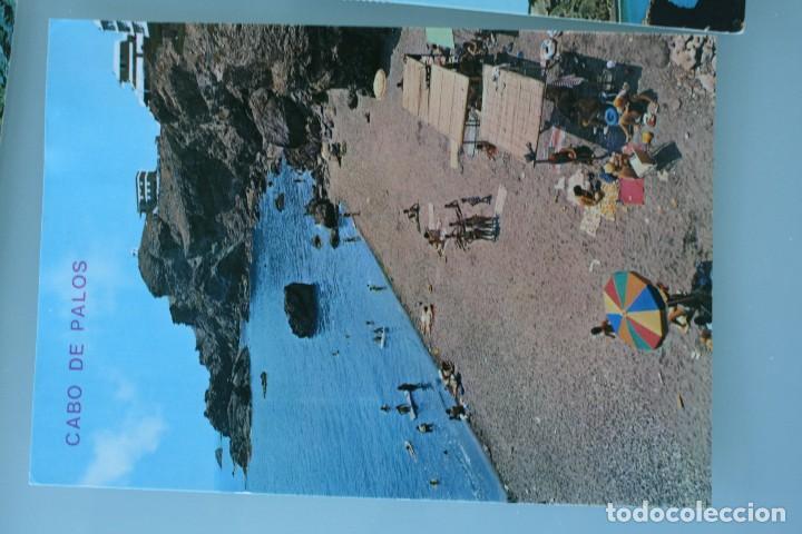 Postales: ANTIGUAS POSTALES CABO DE PALOS MURCIA: CALA FLORES FARO CARTAGENA – AÑOS 60 CIRCULADAS BUEN ESTADO - Foto 6 - 79523809
