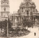 Postales: MURCIA 7499 VISTA GENERAL CATEDRAL THOMAS CIRCULADA EN 1918. Lote 80116985
