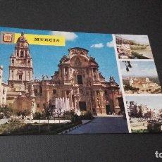 Postales: POSTAL DE MURCIA - VARIAS VISTAS - NO ESCRITA NI CIRCULADA. Lote 81061112