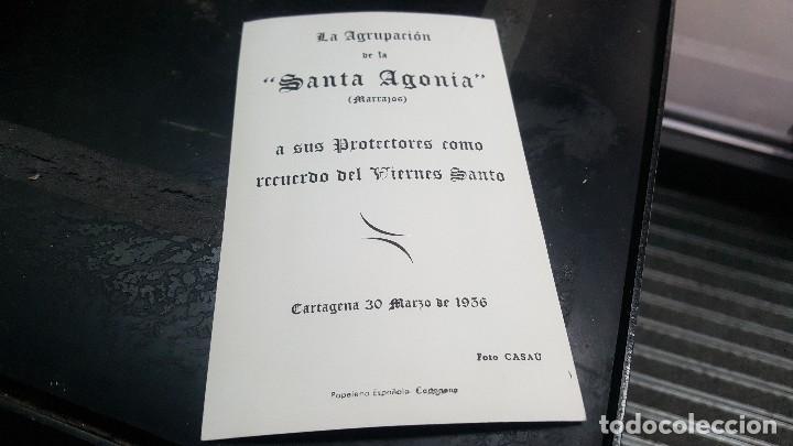 Postales: Agrupacion santa agonia, marrajos, postal fotografica, cartagena 1936 14 x 9 cm. - Foto 2 - 81080956