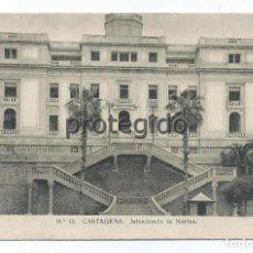 Postales: POSTAL. 18 CARTAGENA, MURCIA. INTENDENCIA DE MARINA. F. MESAS- ARTE- BILBAO.. Lote 81640448
