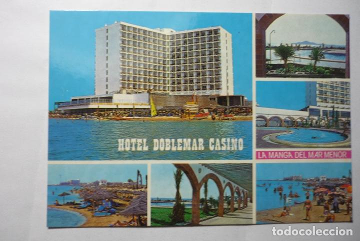 POSTAL LA MANGA DEL MAR MENOR- HOTEL DOBLEMAR (Postales - España - Murcia Moderna (desde 1.940))