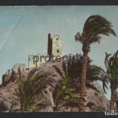 Postales: POSTAL. ALHAMA DE MURCIA. CASTILLO. AÑO 1968.. Lote 84012316