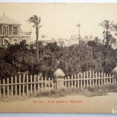 Postales: POSTAL MURCIA - VISTA DESDE EL MALECON. Lote 84720836