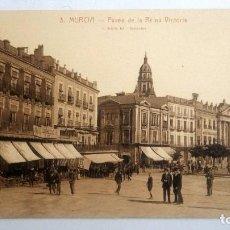 Postales: POSTAL MURCIA - PASEO DE LA REINA VICTORIA, FOT L. ROISIN. Lote 84723052