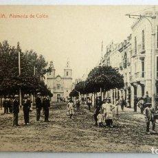Postales: POSTAL MURCIA - ALAMEDA DE COLON, AÑO 1918. Lote 84723336