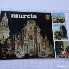 Postales: POSTAL - MURCIA - Nº 157 - FACHADA DE LA CATEDRAL, IMAGENES DE LA CIUDAD - EDICIONES FISA 1973. Lote 85550840