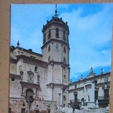 Postales: LORCA. - MONUMENTO SAGRADO CORAZÓN Y COLEGIATA DE SAN PATRICIO. 2018. Lote 86707460