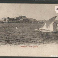 Postales: CARTAGENA - VISTA GENERAL - PZ 10537 - REVERSO SIN DIVIDIR- (4000-28). Lote 86873656
