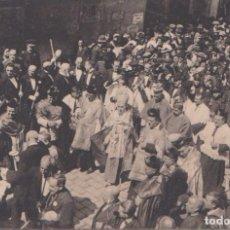 Postales: CARTAGENA (MURCIA) - LOS OBISPOS DETRAS DE LA VIRGEN EN PROCESION. Lote 87033008