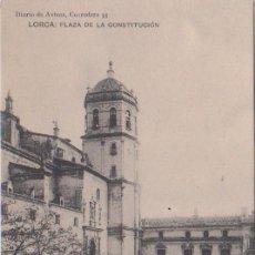 Postales: LORCA (MURCIA) - PLAZA DE LA CONSTITUCION. Lote 87190692