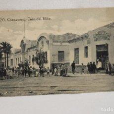 Postales: POSTAL CARTAGENA. CASA DEL NIÑO, MUY ANIMADA, EDICION MELERO, Nº 20. Lote 87243640