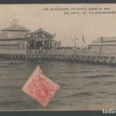 Postales: LOS ALCÁZARES - BALNEARIO SOBRE EL MAR DEL HOTEL DE LA ENCARNACIÓN - P20844. Lote 87827004