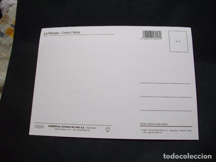 Postales: PRECIOSA POSTAL - DE LA MANGA DEL MAR MENOR - MAPA LA DE LA FOTO VER TODAS MIS POSTALES - Foto 2 - 88492572