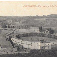 Postales: P- 7039. POSTAL CARTAGENA, VISTA GENERAL DE LA PLAZA DE TOROS. . Lote 90301924