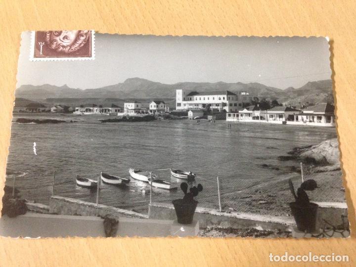 ANTIGUA FOTOGRAFIA TARJETA POSTAL PLAYA RETAMA MAZARRON MURCIA (Postales - España - Murcia Antigua (hasta 1.939))