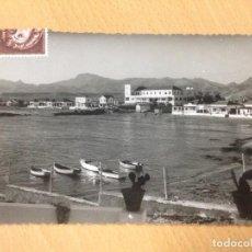 Postales: ANTIGUA FOTOGRAFIA TARJETA POSTAL PLAYA RETAMA MAZARRON MURCIA. Lote 92984495