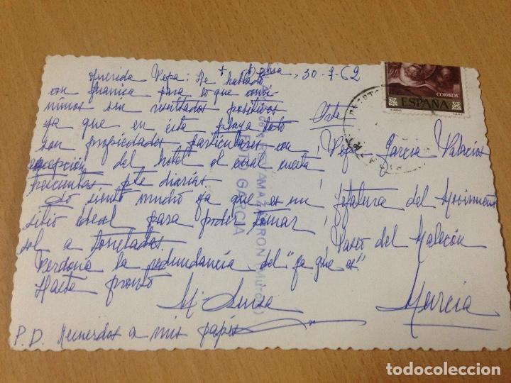 Postales: ANTIGUA FOTOGRAFIA TARJETA POSTAL PLAYA RETAMA MAZARRON MURCIA - Foto 3 - 92984495