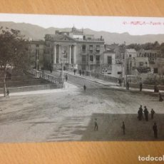 Postales: ANTIGUA POSTAL PUENTE VIEJO MURCIA COLECCION FABERT RARA. Lote 94665787