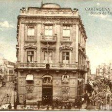 Postales: POSTAL DE CARTAGENA. BANCO DE ESPAÑA. CASAÚ.. Lote 95538271