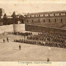 Postales: POSTAL DE CARTAGENA. CUARTEL DE ANTIGUONES Nº 7. Lote 95673451