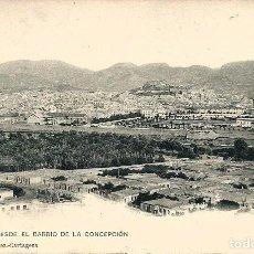 Postales: POSTAL DE CARTAGENA. VISTA DESDE EL BARRIO DE LA CONCEPCIÓN. DIONISIO MARTINEZ Nº 1167. Lote 95673707