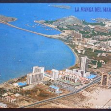 Postales: LA MANGA DEL MAR MENOR (MURCIA) -VISTA PARCIAL AÉREA- SIN CIRCULAR / P-883. Lote 95960039