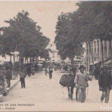 Postales: MURCIA - PLANO DE SAN FRANCISCO. Lote 97468427