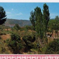 Postales: D50 POSTAL DE GAIBEL CASTELLON, PAISAJE, NIÑO Y FAMILIA CON ESCALERA A SU CASA. Lote 98439939