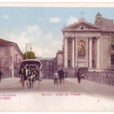Postales: MURCIA: VISTA DEL PUENTE. PHOTOGLOB ZÜRICH (P.Z.). SIN DIVIDIR. NO CIRCULADA (ANTERIOR A 1905). Lote 98675731