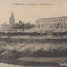 Postales: MURCIA - PARQUE DE RUIZ HIDALGO. Lote 99327447