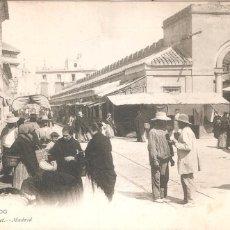 Postales: MURCIA EL MERCADO 1926. Lote 99536443