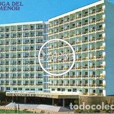 Postales: LA MANGA DEL MAR MENOR MURCIA Nº 3005 HOTEL DOBLEMAR CASINO SIN CIRCULAR (BOYCER) . Lote 99851851