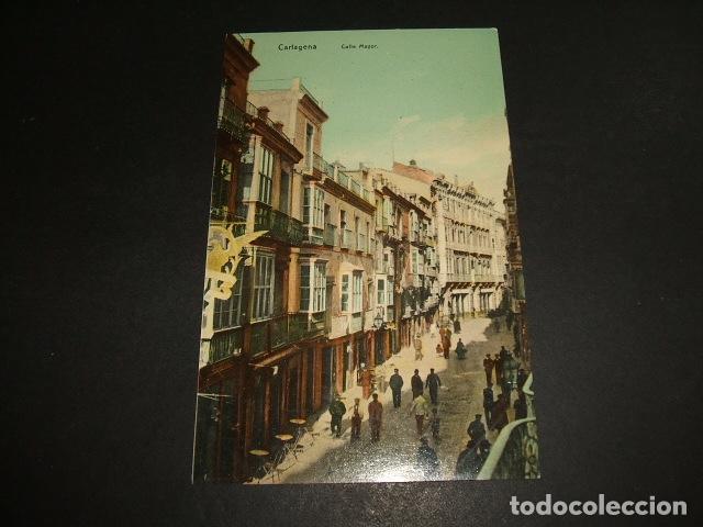 CARTAGENA MURCIA CALLE MAYOR (Postales - España - Murcia Antigua (hasta 1.939))