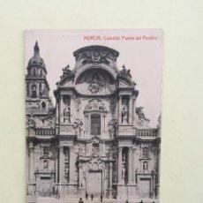 Postales: MURCIA- CATEDRAL- PUERTA DEL PERDON- SIN CIRCULAR. Lote 100283831