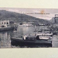 Postales: CARTAGENA- MURCIA- ATRACADERO DE BOTES- SIN CIRCULAR. Lote 100286383