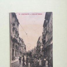 Postales: CARTAGENA- CALLE DEL CARMEN- . Lote 100286883