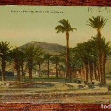 Cartes Postales: POSTAL DE CARTAGENA, HUERTO DE PALMEROS, BARRIO DE LA CONCEPCIÓN, CIRCULADA.. Lote 100753351