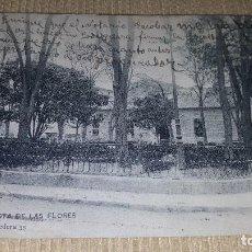Postales: POSTAL LORCA.GLORIETA DE LAS FLORES.CIRCULADA.TEXTO CATALAN Y CASTELLANO.. Lote 101369195