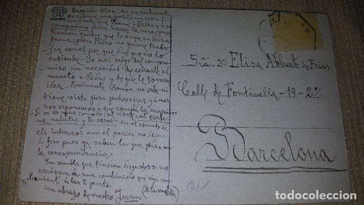 Postales: Postal lorca.glorieta de las flores.circulada.texto catalan y castellano. - Foto 2 - 101369195