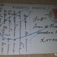 Postales: POSTAL HOTEL UNIVERSAL.MURCIA.DESDE EL BALCON.CIRCULADA.. Lote 101371227