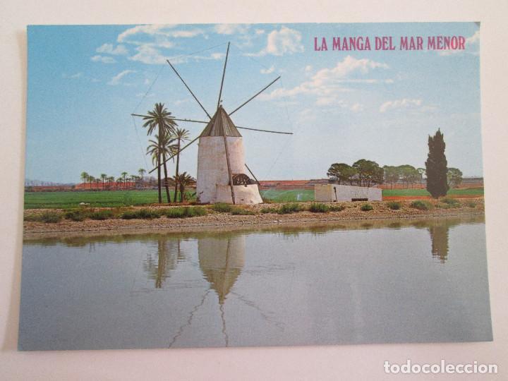 POSTAL MURCIA - LA MANGA DEL MAR MENOR - MOLINO TIPICO - 1979 - BOYCER 3004 - SIN CIRCULAR (Postales - España - Murcia Moderna (desde 1.940))