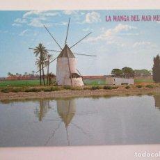 Postales: POSTAL MURCIA - LA MANGA DEL MAR MENOR - MOLINO TIPICO - 1979 - BOYCER 3004 - SIN CIRCULAR. Lote 119419490