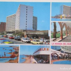 Postales: POSTAL MURCIA - LA MANGA DEL MAR MENOR - HOTEL DOBLEMAR CASINO - 1980 - BOYCER 3011 - SIN CIRCULAR. Lote 101728535