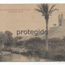 Postales: POSTAL. CIEZA, MURCIA. VISTA DE LA ERMITA DEL SANTO CRISTO Y CAUCE DEL MOLINO. EDICIÓN PIEDAD LÓPEZ.. Lote 102516447