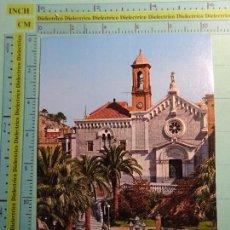 Postales: POSTAL DE MURCIA. AÑO 1965. CARTAGENA, IGLESIA DE SAN DIEGO. 1600. Lote 103249539