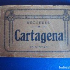 Postales: (PS-53660)BLOCK 20 POSTALES RECUERDO DE CARTAGENA. Lote 103563695