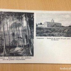 Postales: ANTIGUA POSTAL RESIDÈNCIA VERANO POETA CAMPOAMOR SAN PEDRO DEL PINATAR MURCIA. Lote 104856019