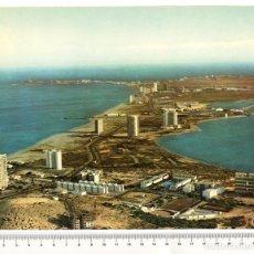 Postales: PANORÁMICA DE LA MANGA DEL MAR MENOR - AÑO 1974 - GRAN TAMAÑO: 18 X 24 CM . Lote 105108123